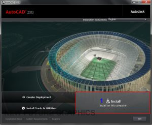 Download AutoCAD 2013 64bit full crack