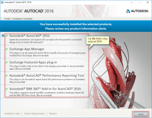 Download AutoCAD 2016 32bit full crack