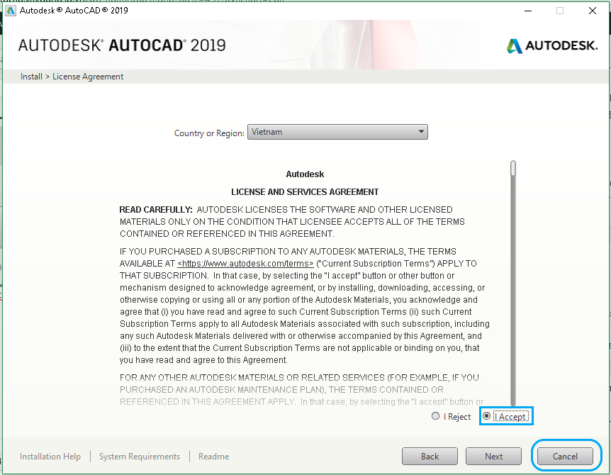 Download Autocad 2019 full crack bản 64 bit