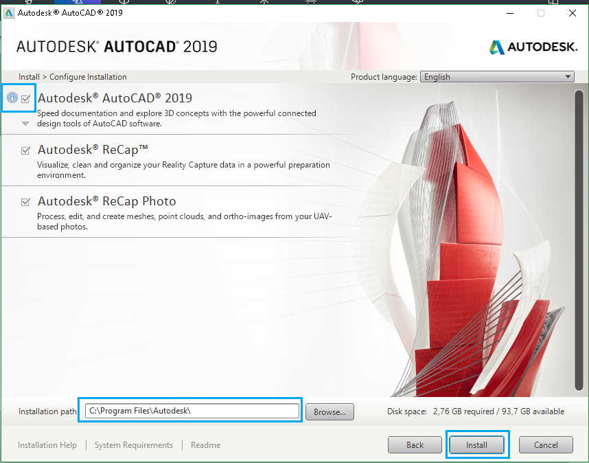 Download Autocad 2019 full crack 64 bit